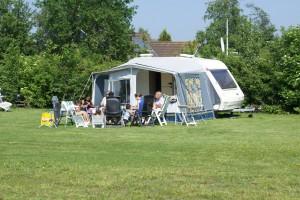 Minicamping - Theeschenkerij Blauforlaet kamperen met de caravan.