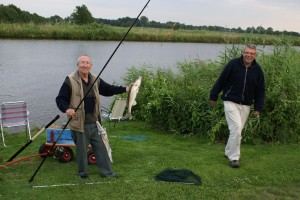 Minicamping - Theeschenkerij Blauforlaet vissen